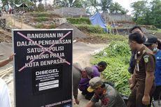 Diprotes Warga dan Tak Ber-IMB, Pembangunan Perumahan di Denpasar Disegel