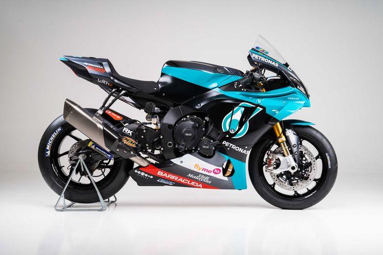 Yamaha YZF-R1 replika Petronas Yamaha dijual hanya 46 unit