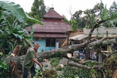 Puting Beliung di Sukabumi, Jumlah Bangunan Rusak Bertambah, Rumah hingga SPBU