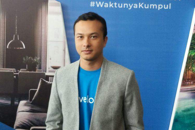 Nicholas Saputra saat ditemui di kawasan Kemang, Jakarta Selatan, Kamis (7/11/2019).