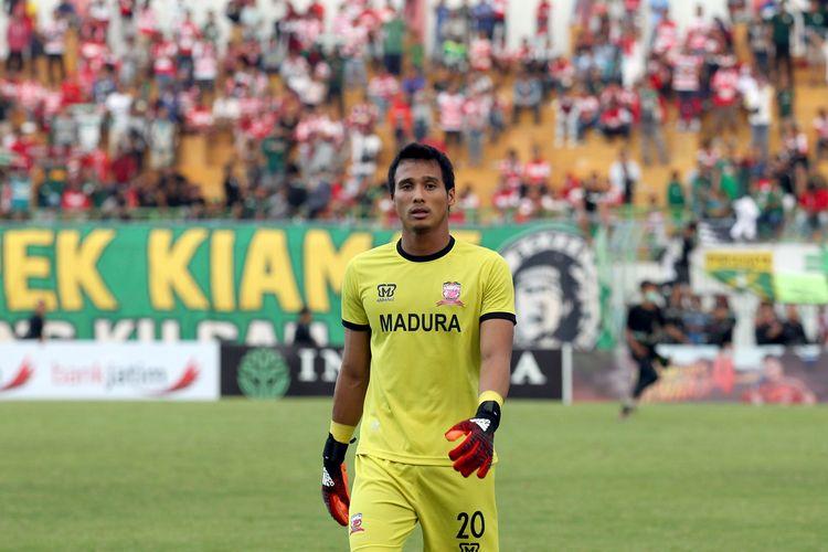 Penjaga gawang Madura United untuk musim 2020, M Ridho.