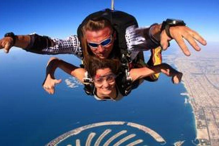 Skydive di Dubai