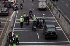 Ingat, Sepeda Motor Dilarang Melintas di JLNT Casablanca