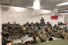 Mengenal Garda Nasional, Pasukan yang Fotonya Viral Saat Telantar di Parkiran Gedung Capitol