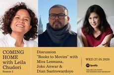Coming Home with Leila Chudori: Buku, Film, dan Kecemasan Pembaca