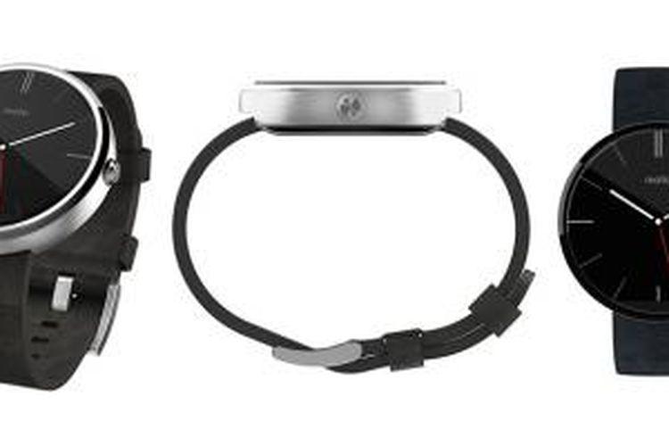 Jam tangan pintar Android Wear Motorola Moto 360