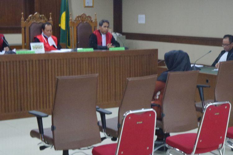 Mantan Gubernur Banten, Atut Chosiyah menjadi terdakwa di Pengadilan Tipikor Jakarta, Kamis (20/7/2017).