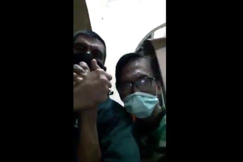 Video Viral Seorang ASN Terobos Ruang Isolasi dan Salaman dengan Pasien Covid-19