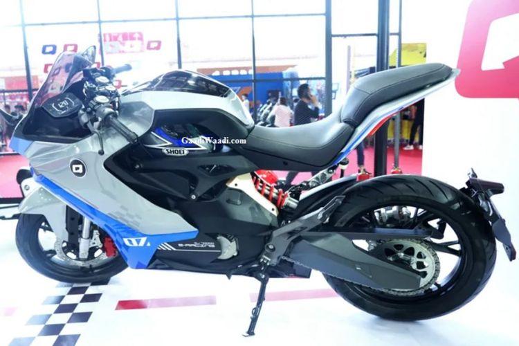 Motor listrik konsep QJ7000D yang dipamerkan pada Beijing Motor Show 2021 akan dijual dengan merek Benelli
