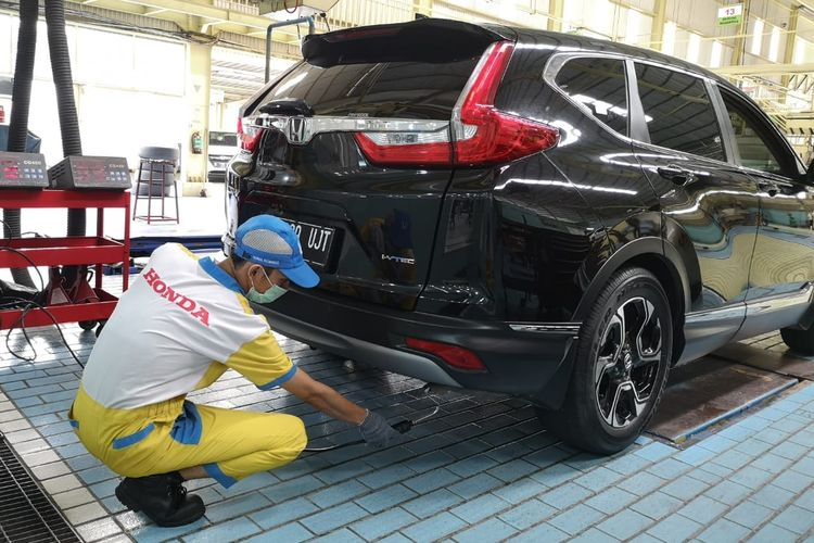 Uji emisi gratis di dealer Honda di TKI