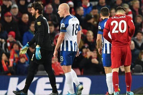Liverpool Vs Brighton, Klopp Tanggapi Kartu Merah Alisson