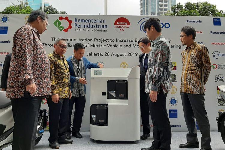 Kemenperin dan NEDO memulai proyek demonstrasi efisiensi motor listrik.