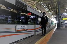 Rapid Antigen Tests at Train Stations in Indonesia