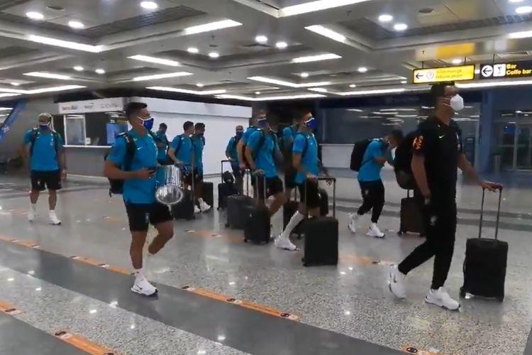 Timnas Brasil dalam perjalanan dari Serbia menuju Jepang untuk mengikuti Olimpiade Tokyo 2020.