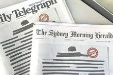 Protes Pembatasan Pers, Koran Australia Kompak