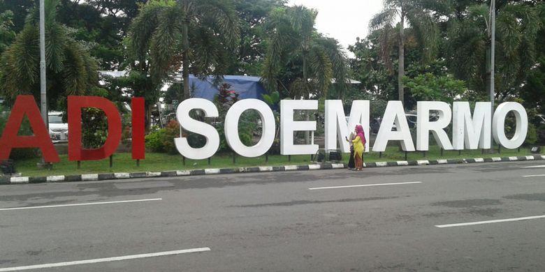 Bandara Internasional Adi Soemarmo di Kabupaten Boyolali, Jawa Tengah.