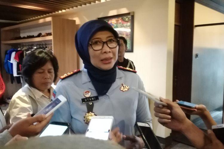Direktur Jenderal Pemasyarakatan (Dirjen PAS) Kementerian Hukum dan HAM, Sri Puguh Budi Utami