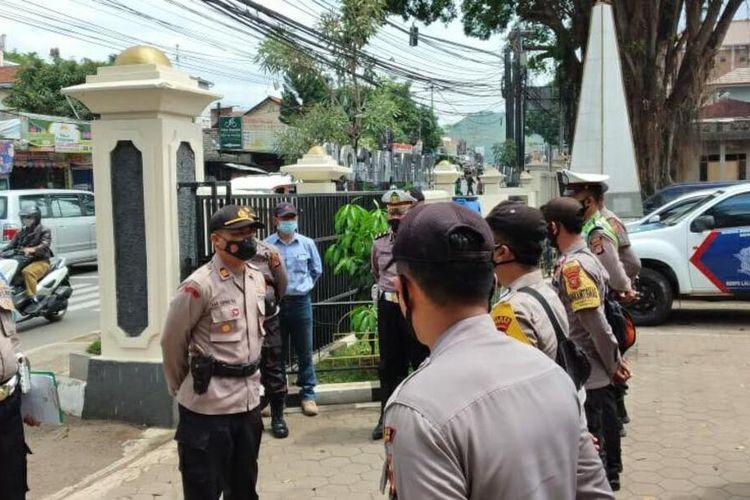 Gereja di kampus IPDN Jatinangor, Sumedang, Jawa Barat tidak akan digunakan sebagai tempat perayaan natal, Senin (21/12/2020). AAM AMINULLAH/KOMPAS.com