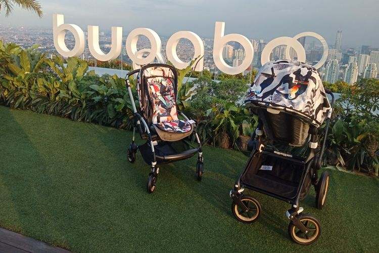 Contoh stroller Bugaboo.