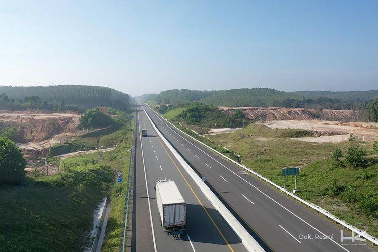 Main Road Jalan Tol Trans Sumatera Ruas Pekanbaru - Dumai