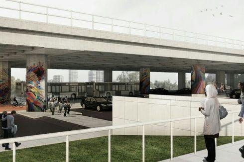Pembangunan Lahan Parkir Kolong Tol Kalijodo Terhambat Perjanjian Pengembang
