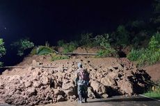 Tebing Longsor, Jalan Provinsi Penghubung Banjarnegara-Kebumen Terputus