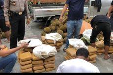 Polres Jakbar Amankan 254 Kilogram Ganja di Sumatera Utara