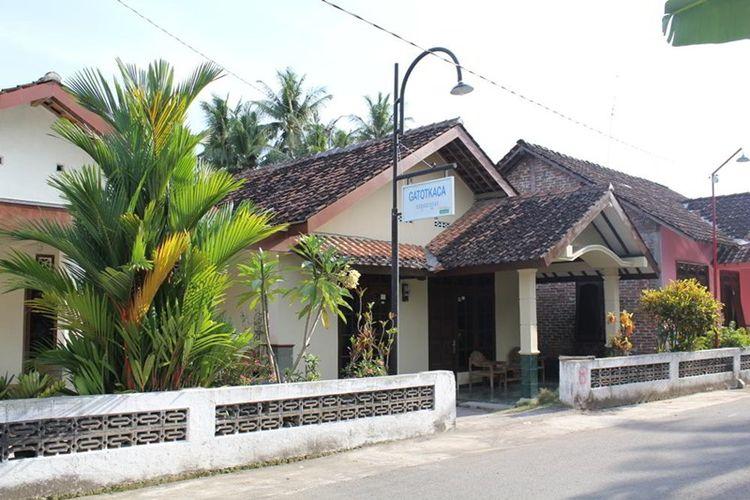 Homestay Gatot Kaca di Museum HM Soeharto, Yogyakarta.