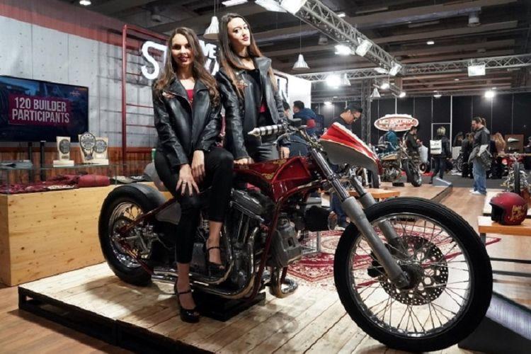 The Iconic Bike Suryanation Motorland 2017 ?Trident? diganjar penghargaan dari Spain Bike Scene di Motor Bike Expo 2019 di Verona, Italia.