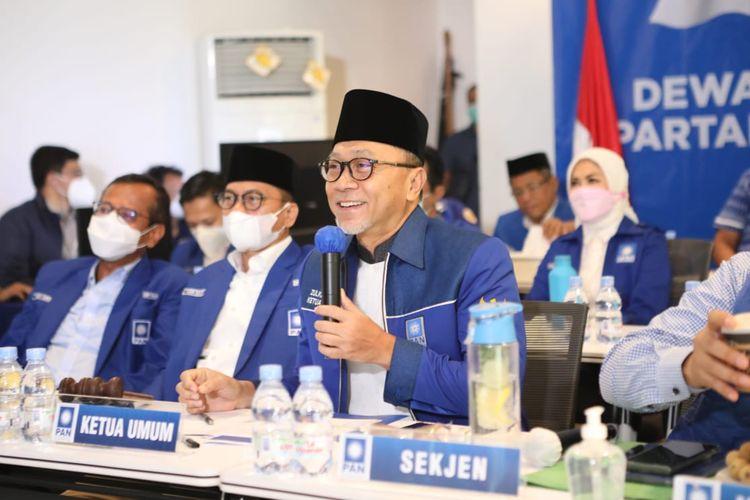 Ketua Umum Partai Amanat Nasional (PAN) Zulkifli Hasan