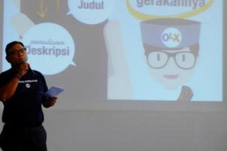 CEO OLX Indonesia Daniel Tumiwa