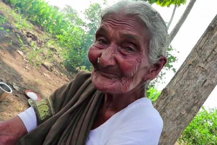 Mastanamma, nenek berusia 107 tahun yang disebut sebagai YouTuber tertua di dunia.