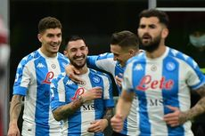 Hasil Liga Italia Napoli Vs Lazio, Partenopei Menangi Drama 7 Gol