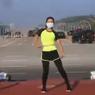 Video Viral Perempuan Senam Aerobik Saat Detik-detik Kudeta di Myanmar