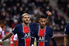 Reims Vs PSG, Dua Gol Icardi Bawa Les Parisiens Menang
