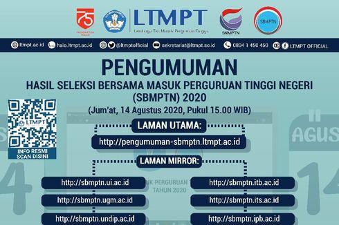 Pengumuman SBMPTN 2020, Simak Link Berikut...