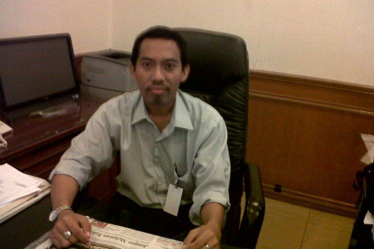 Komisioner KPU Jawa Timur Miftahur Rozaq