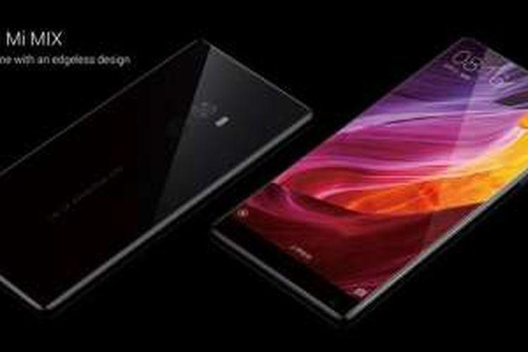 Ponsel Xiaomi Mi Mix.
