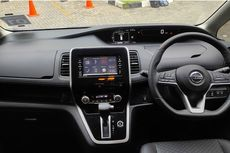 All New Nissan Serena, Kelapangan Sisi Interior