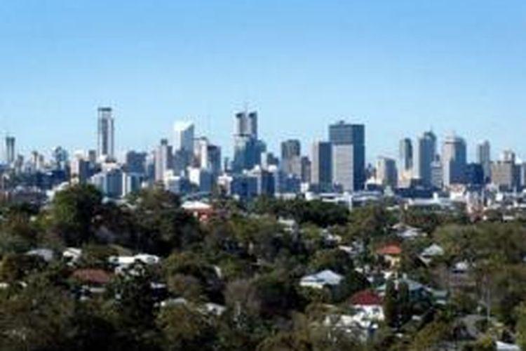 Pemandangan kota Brisbane, Queensland