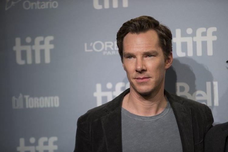 Benedict Cumberbatch menghadiri Toronto International Film Festival di Toronto, Kanada, pada 10 September 2017.
