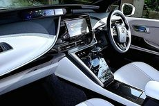 Intip Kemewahan Kabin Toyota Mirai