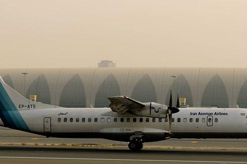Tim SAR Iran Temukan Lokasi Jatuhnya Pesawat Milik Aseman Airlines