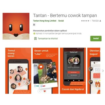 Aplikasi Tantan