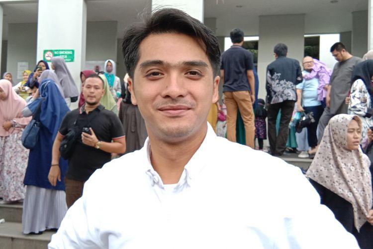 Rixky Harun dijumpai dalam sebuah acara di Masjid Ash Shaff Emerald di Bintaro, Tangerang Selatan, Banten, Sabtu (1/12/2018).