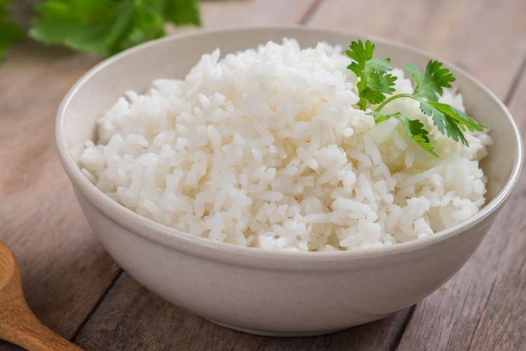 Ilustrasi nasi putih
