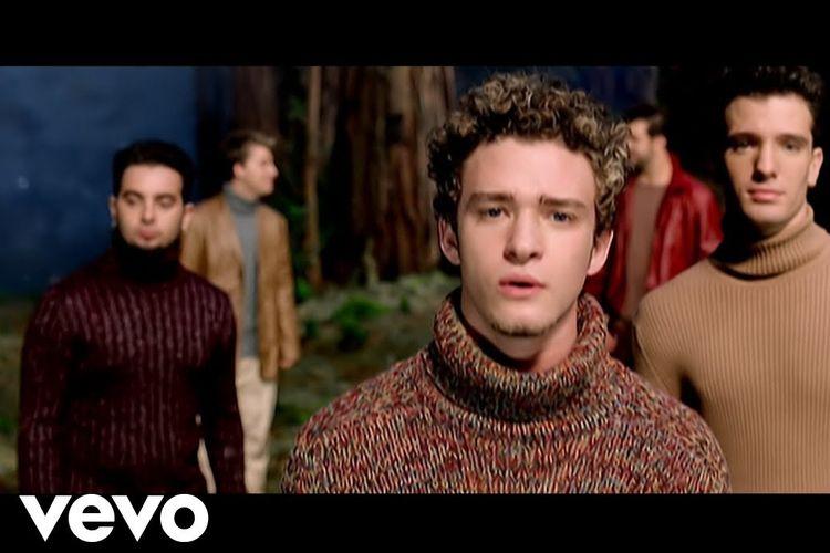 Tangkapan layar *NSYNC dalam musik video This I Promise You.