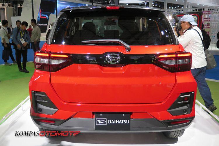 SUV Baru Daihatsu yang digadang-gadang memiliki nama Rocky tampil di ajang Tokyo Motor Show 2019