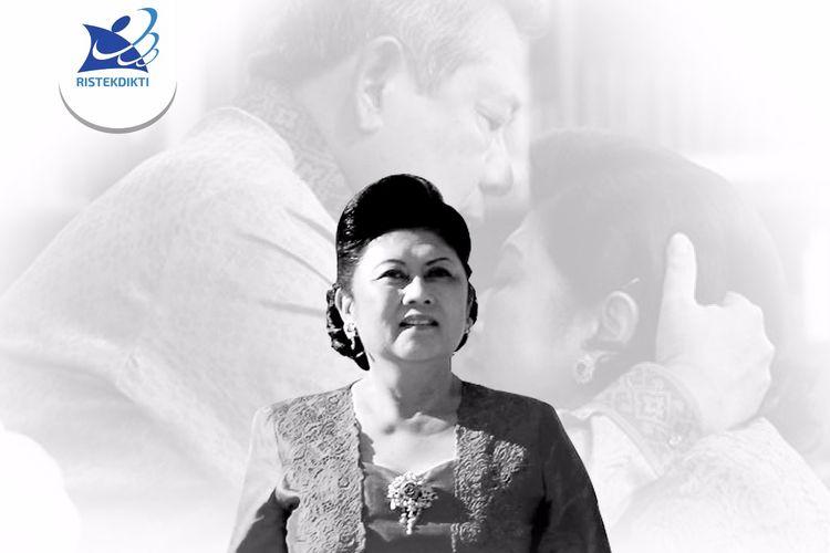 Menristekdikti Mohamad Nasir menyampaikan belasungkawa dan mendoakan atas berpulangnya Ibu Negara Republik Indonesia 2004 - 2014, Kristiani Herrawati (Ani Yudhyono) yang meninggal dunia pada Sabtu, 1 Juni 2019 di Singapura.