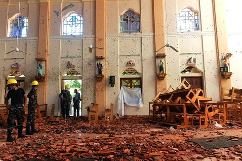 Pascaserangan Bom, Menteri Muslim Sri Lanka Mundur Massal